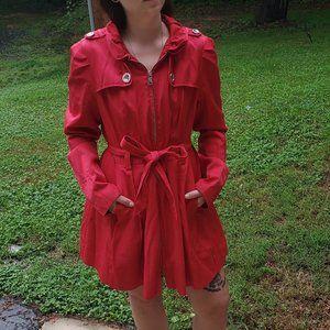 Steve Madden Trench Raincoat 0890